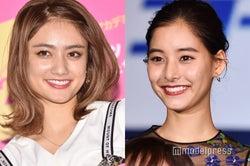 新木優子&谷まりあ、美女2人の密着ショットにファン歓喜