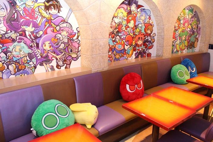 ぷよクエカフェ(提供写真)