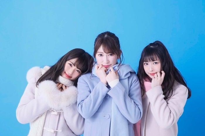渋谷凪咲、吉田朱里、梅山恋和 (C)NMB48