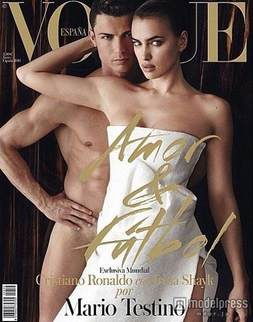 ふたりで『Vogue Espana』の表紙にも登場。Irina Shayk Instagram