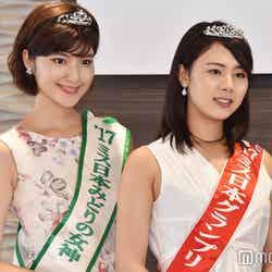 野中葵さん、高田紫帆さん(C)モデルプレス