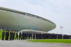 会場は厳戒態勢 ヴィクトリアズ・シークレット ファッションショー開催前日 初の中国開催
