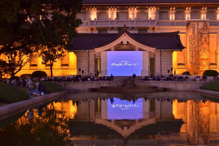 博物館で野外シネマ/画像提供:東京国立博物館