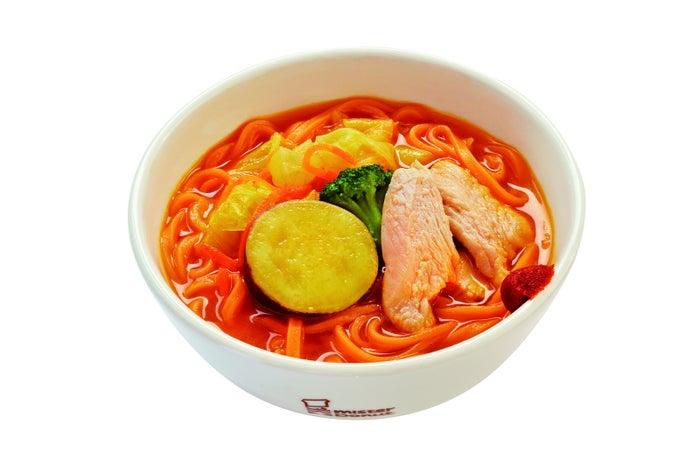 野菜の旨味味わうベジソバ(572円)/画像提供:ダスキン
