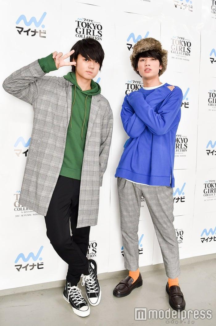 (左から)佐野勇斗、板垣瑞生 (C)モデルプレス
