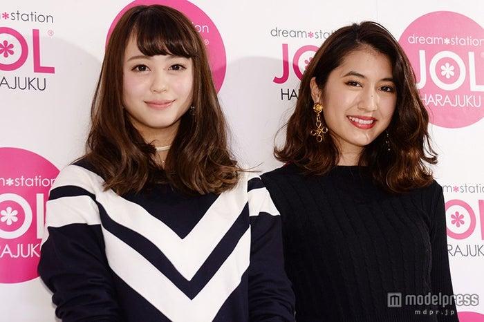 (左から)大川藍、有末麻祐子