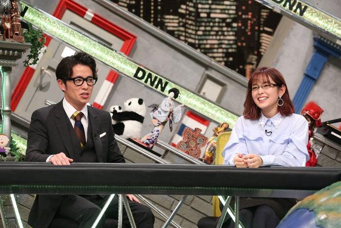 (左から)藤森慎吾、矢作穂香(C)フジテレビ