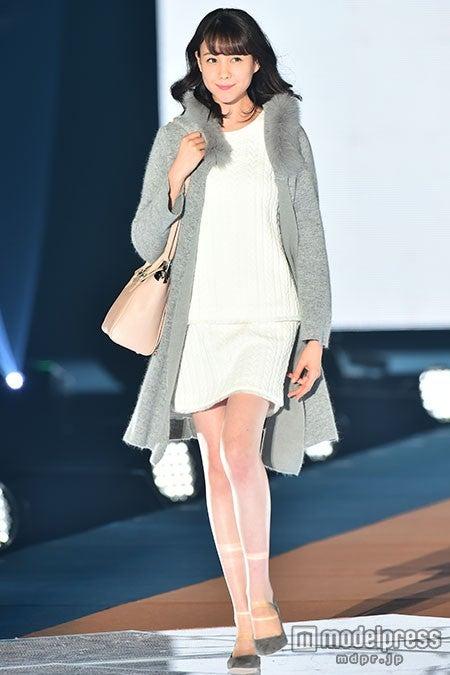 「GirlsAward 2015 A/W」に出演したトリンドル玲奈【モデルプレス】
