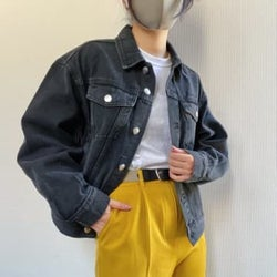 古着っぽくてオシャレ〜!H&Mの「3999円ジャケット」は低身長さんにこそ着てほしい!