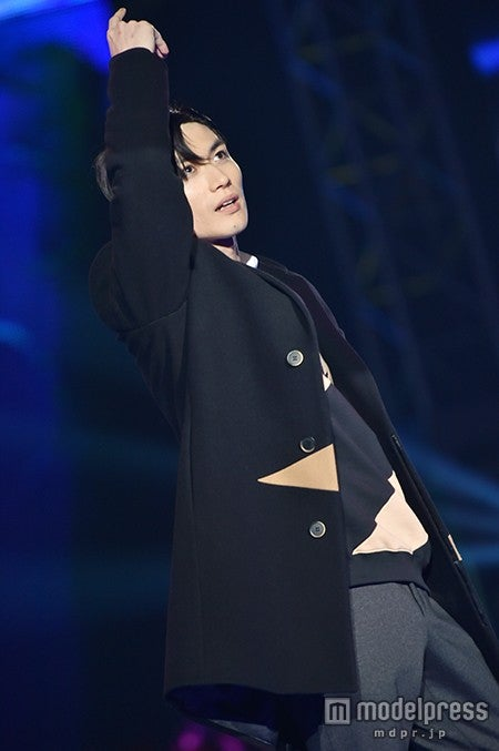 「神戸コレクション2015 A/W」に出演した三浦春馬【モデルプレス】