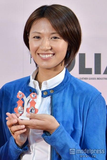 「レザーニスト2013」に選出された浅尾美和
