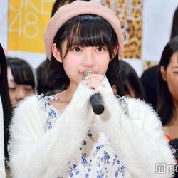 矢作萌夏「第3回AKB48グループドラフト会議候補者オーディション」三次審査通過者お披露目のときの様子 (C)モデルプレス