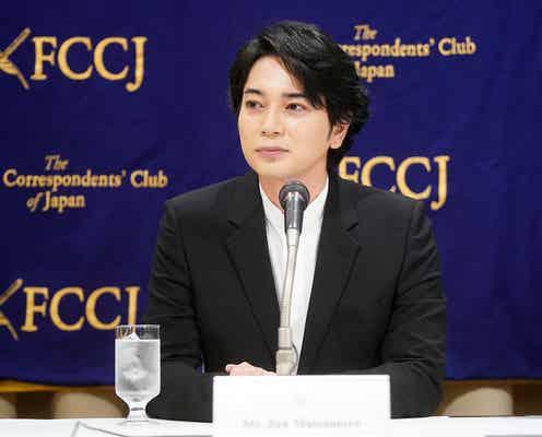 松本潤、嵐活動休止後初の公の場 初ライブフィルムの海外公開を発表<ARASHI 5×20 FILM>