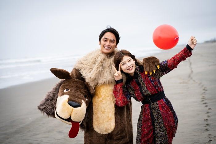 平原颯馬、染野有来(C)AbemaTV, Inc.