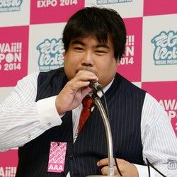 「もしもしにっぽん」プロジェクトの発表を行ったアソビシステム株式会社・中川悠介代表取締役社長