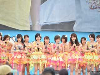 """NMB48、""""まさかの場所""""での生中継歌唱に視聴者&ファン総ツッコミ「何故」「誰も予期できなかった」"""