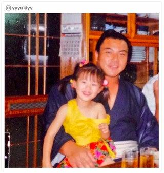 山本優希、九重親方の訃報に沈痛「父のような存在」 幼少期の2ショット公開