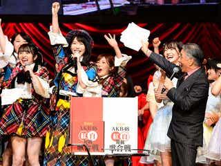第8回AKB48紅白対抗歌合戦、勝敗決定