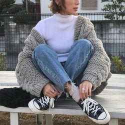 大人女子はこの冬こう履く!4つのブランド別に見るスニーカーコーデ