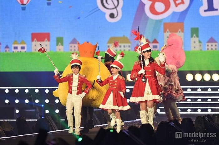 Dream5重本ことり、SUPER GIRLSの溝手るか・前島亜美、しげもん、マイメロディも行進