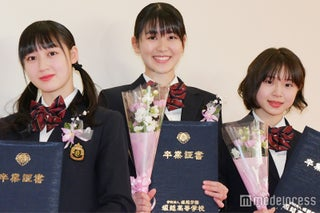 X21小澤奈々花・籠谷さくら・松田莉奈、堀越高校を卒業 卒業後の進路は?