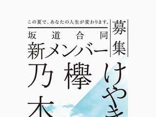 """乃木坂46・欅坂46・けやき坂46""""坂道シリーズ""""合同で新メンバーを募集"""