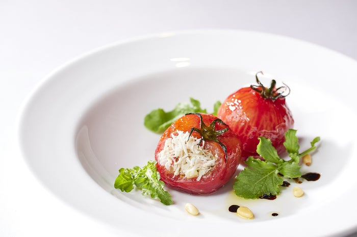 フルーツトマトのサラダ仕立て ¥1,500/画像提供:フォション