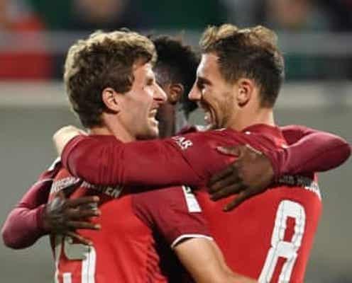 サッカー=バイエルン、数的不利も快勝で公式戦8連勝