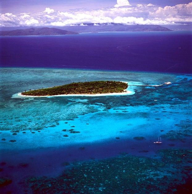 グレートバリアリーフ・グリーン島/画像提供:JTBワールドバケーションズ