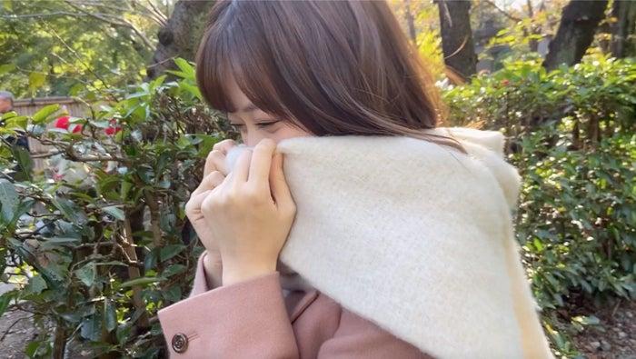 """""""ツンデレ""""山下美月「見んなしぃ」(提供写真)"""