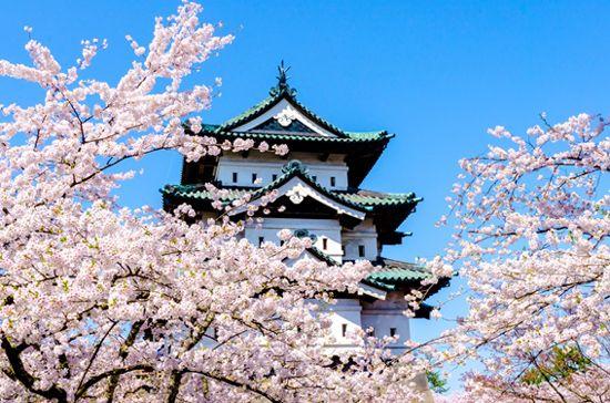 弘前城/画像提供:阪急交通社