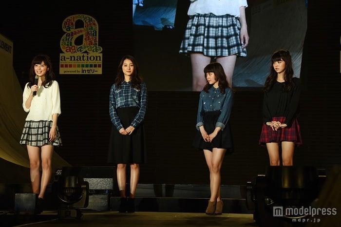 新「non‐no」モデル/(左から)久慈暁子、高田里穂、遠藤新菜、鈴木優華