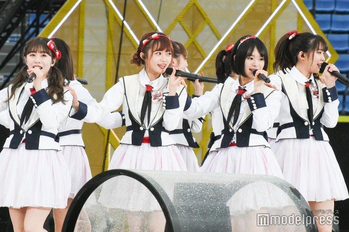 NGT48 「AKB48グループ春のLIVEフェスin横浜スタジアム」(C)モデルプレス