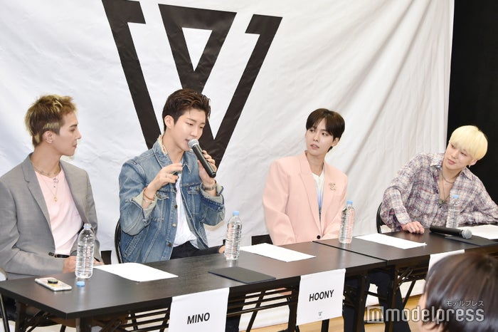 MINO、HOONY、JINU、YOON (C)モデルプレス