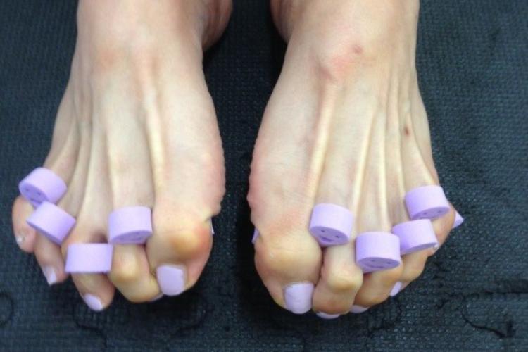 足指エクササイズ