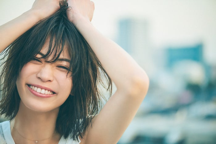 坂田梨香子/「CanCam」5月号(画像提供:小学館)