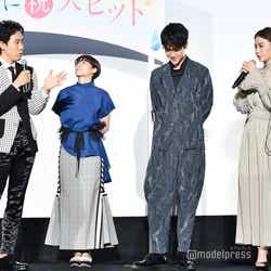 (左から)大泉洋、清野菜名、葉山奨之、山本舞香 (C)モデルプレス