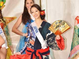 レディー・ガガのシューズデザイナーが製作 ミス・インターナショナル日本代表がコスチュームお披露目