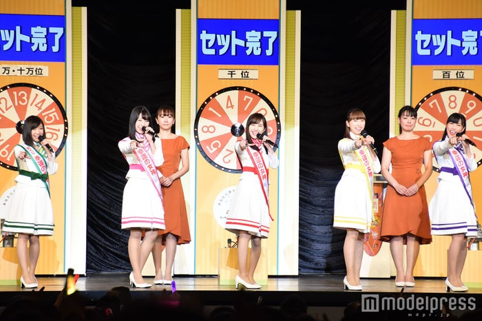(左から)有安杏果、佐々木彩夏、百田夏菜子、玉井詩織、高城れに (C)モデルプレス