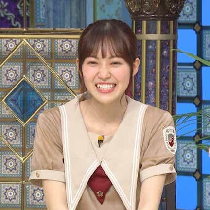 櫻坂46・松田里奈、大御所本人の前で堂々モノマネ披露