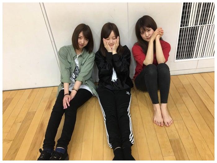 和田まあや、星野みなみ、樋口日奈/和田まあや公式ブログより