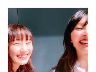 松井玲奈&家入レオ、満面の笑みの2ショットが可愛い「レナレオ最高」「仲良すぎ」