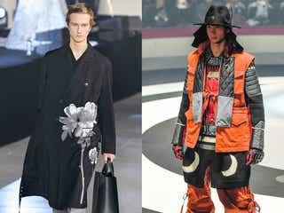 「ヴァレンティノ」「アンダーカバー」20~21年秋冬パリ・メンズコレクション パリらしい創造性に焦点