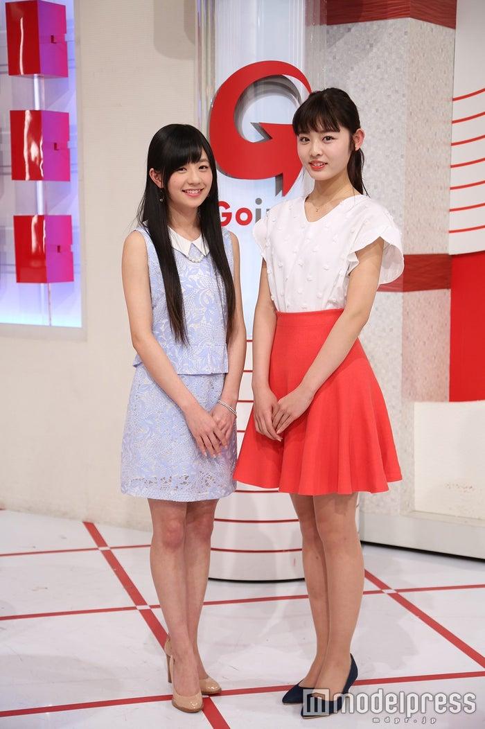 伊藤萌々香、古畑星夏(画像提供:日本テレビ)