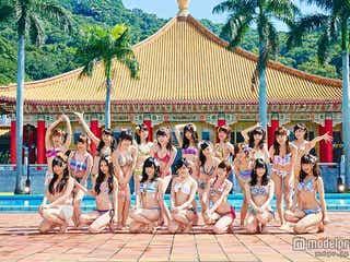 NMB48、新曲センター発表 水着ダンスも公開