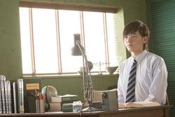 濱田龍臣/「家庭教師」篇メイキングカットより(提供写真)