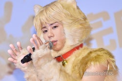 """キスマイ北山宏光「みんな俺のことチビだと思ってる」 飯豊まりえの""""身長トーク""""に会場ざわつく<トラさん~僕が猫になったワケ~>"""
