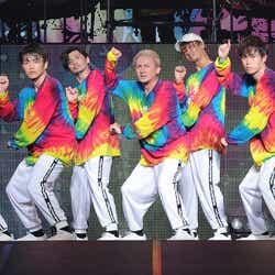写真左から/KIMI、KENZO、U-YEAH、ISSA、TOMO、YORI、DAICHI  (提供写真)