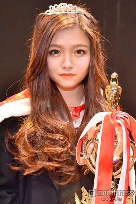 「関西女子高校生ミスコン2014」グランプリの「みゆ」さん