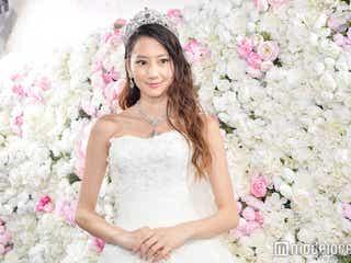 河北麻友子、総額7億円のウエディングドレス姿に「めっちゃキレイ」の声